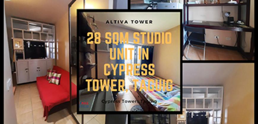 Studio Type in Cypress Tower, Taguig