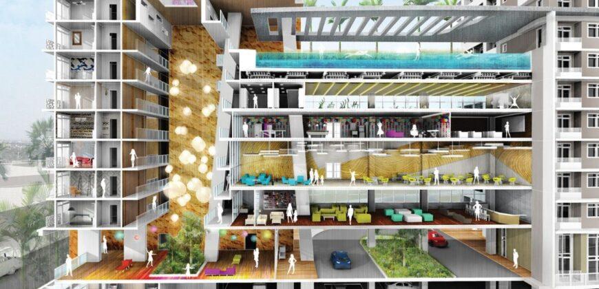 1BR Condominium in The Maven, Capitol Commons