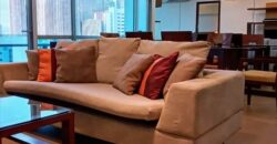 FOR LEASE!  Furnished 3BR in Sapphire Residences, BGC for 105,000 per month