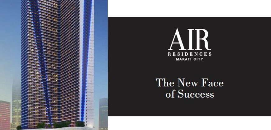 Rush for sale: 1BR unit in Air Residences, Makati (assignment of rights)