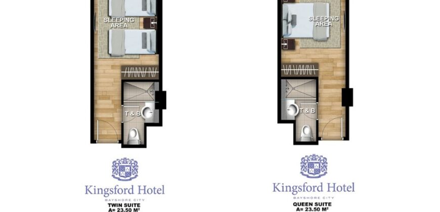 Investment Fire Sale: Twin Suite Unit in Kingsford Hotel Bayshore City (Below Market Value)