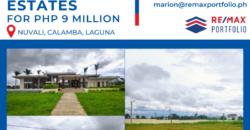 For Sale! 343 sqm residential lot in Nuvali Hillcrest Estates for Php 9 million