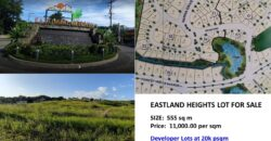 Residential Lot at Eastland Heights, Antipolo City