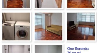 1BR condo in Serendra Tower with Parking